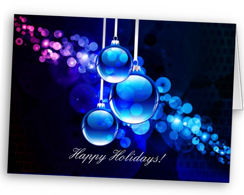 Holiday, greeting card, personalized note cards