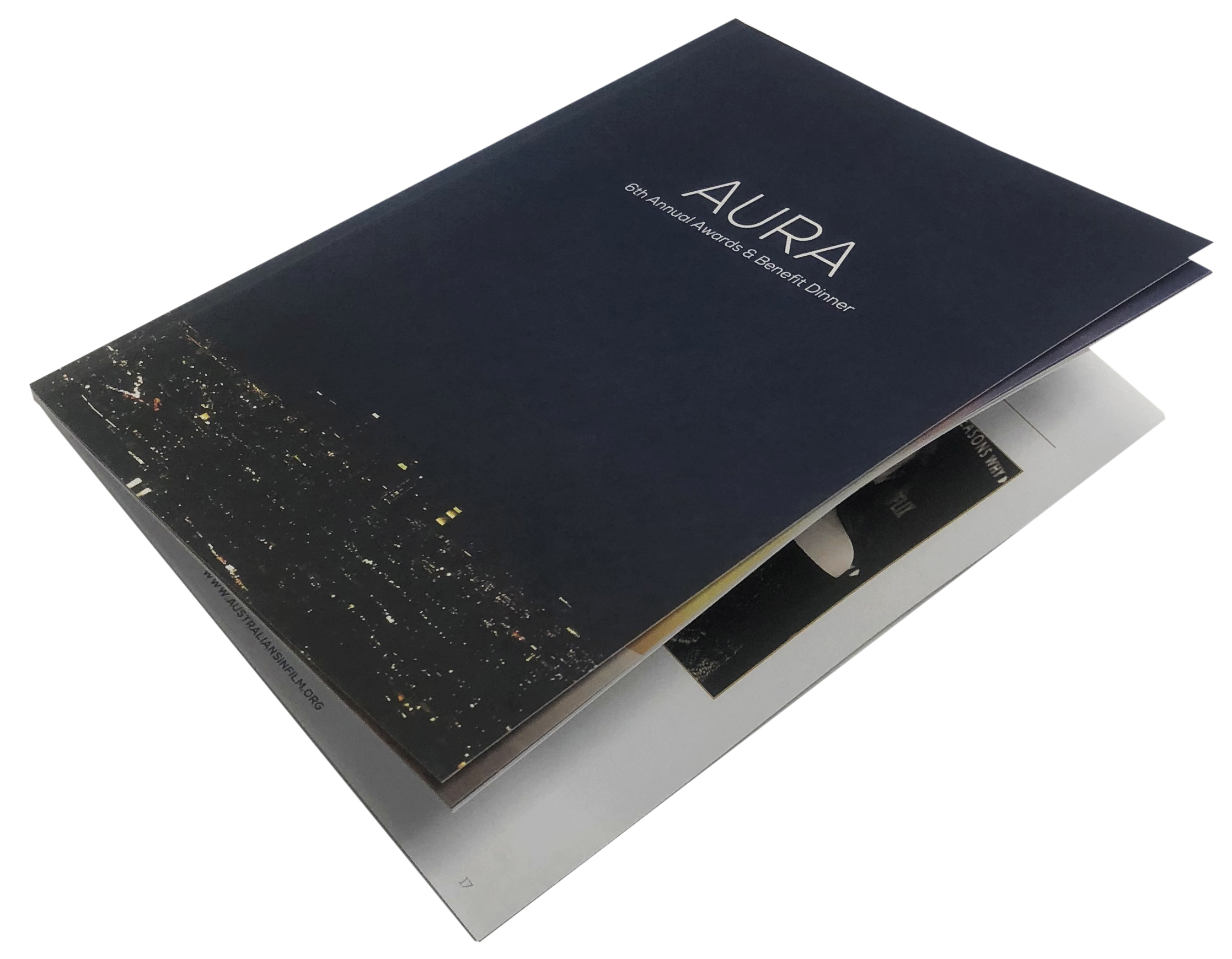 Catalog Print Sample, Perfect Bound, 4 Color, Booklet