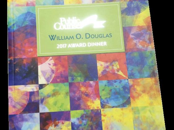 Ad Book Print Sample - Public Counsel Award Dinner