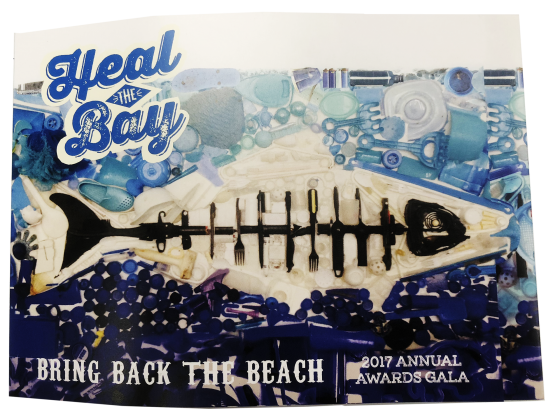 Invitation Print Sample - Die Cut - Heal the Bay
