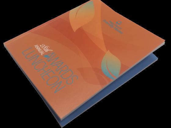 Booklet Print Sample, Perfect Bind