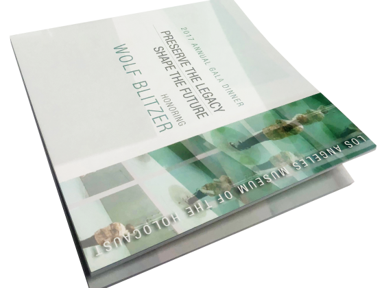 Booklet Print Sample, Digital, Perfect Bound