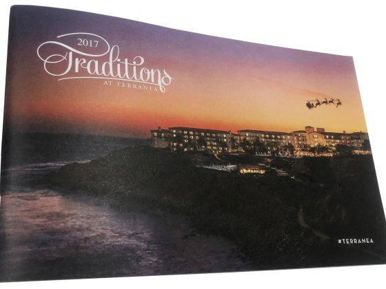 Booklet Print Sample - Traditions