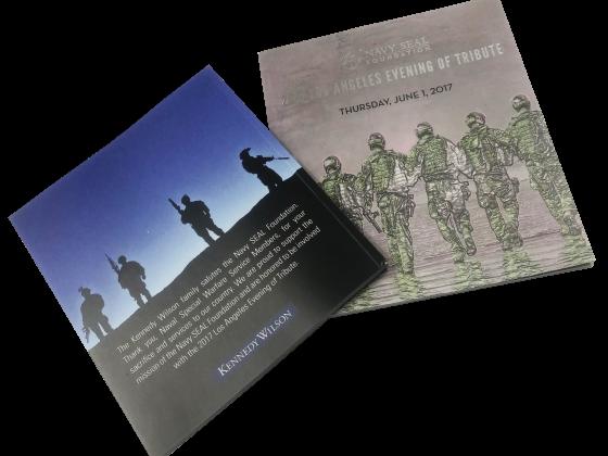 Tribute Book Print Sample - Digital, Saddle Stitch