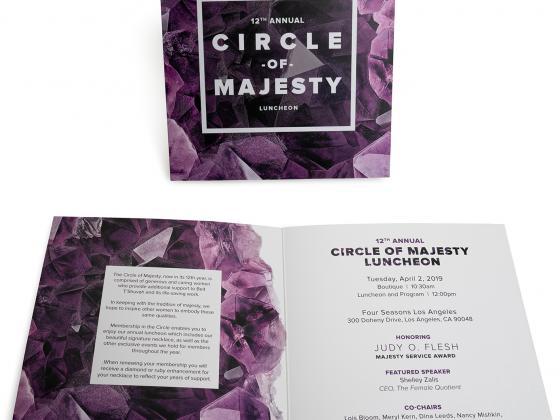 Majesty digital invitations