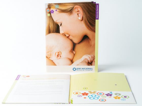 Health Science Presentation Care Folder