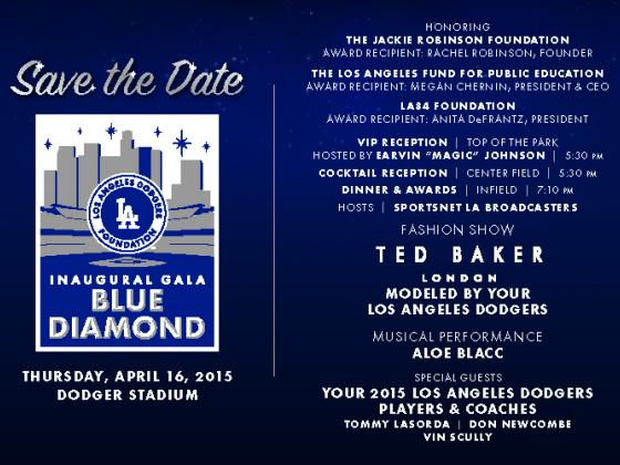Save the Date, Go Dodgers, LADF