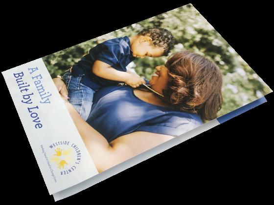 Digital Brochure Folded - Print Sample - Children's Center