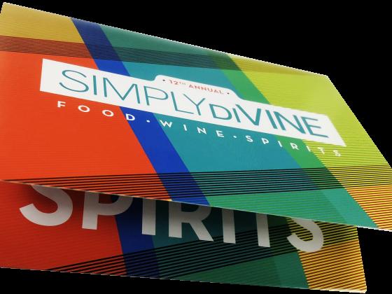 Invitation, Digital Printing, Folded, Die Cut, Print Sample