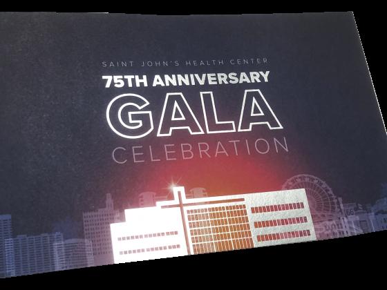 Invitation, Postcard, Foil Stamp, Digital, 4 Color, Print Sample